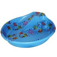Pool wading wt slide poly 5 ft for Plastik pool rund